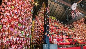 その数1万個以上!色とりどりの雛のつるし飾りでひなまつりを祝う 静岡県東伊豆町