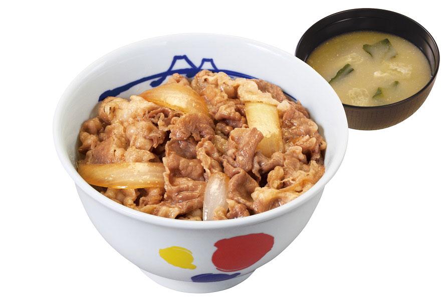 「松屋」は24時間営業!牛めしや定食は、ドライブ途中の腹ごしらえにぴったり