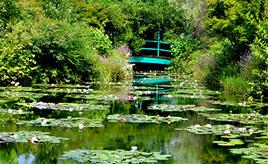 まるで絵画の中を歩いているみたい♪モネの世界が広がる庭に感激 高知県北川村