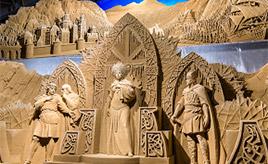 緻密すぎる像の表現にびっくり!砂の美術館で世界旅行気分を楽しもう 鳥取県鳥取市