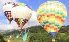 愛犬とお出かけ♪熱気球やカヌーに乗って、湖と空と大自然を堪能しよう 長野県白馬村