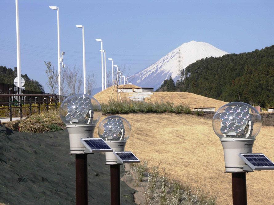 天気が良い日は、富士山を眺めることができるロケーション。