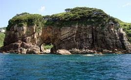 荒波がつくりあげた日本最大級の海蝕洞門!足摺岬の白山洞門へ行こう 高知県土佐清水市
