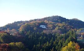 【道にまつわる珍百景】中央自動車道藤野PA付近から見える「緑のラブレター」 神奈川県相模原市