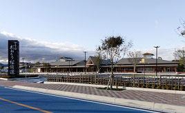 冬のイルミネーション点灯中!天然温泉もある施設充実の道の駅 福岡県大任町