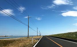 【信号と渋滞のない道】水郷佐原から利根川河口堰の約20km 千葉県香取市~茨城県神栖市