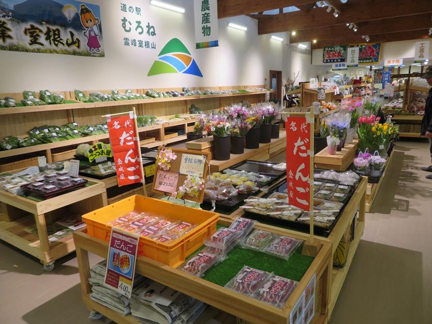 「産直施設」では、地元で作られた新鮮野菜や、南三陸町から直送の海の幸を購入できる。11~5月なら殻付カキ25~30個入り1500円(税込)、夏場はホヤ(市価の半額程度)がおすすめ。