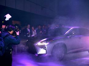 新型レクサス RXの発表イベントが開催