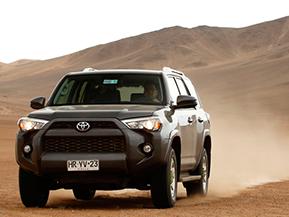 北米で大人気! トヨタ・4ランナーを南米の土漠で試乗
