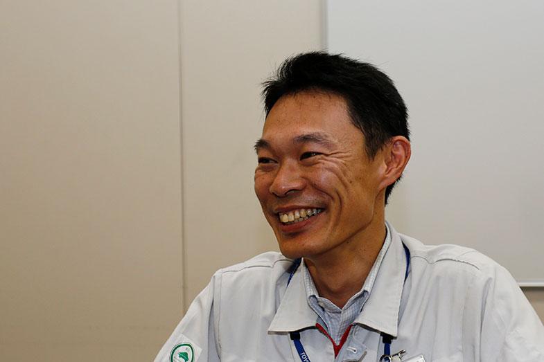 シャシー製造部 フレーム課長 田畑千尋さん