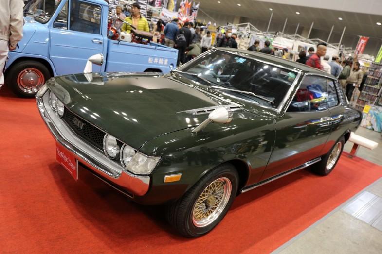"""父親の愛車を受け継いだというトヨタの""""ダルマ""""セリカ1600GTV。3000kmのツーリングをノートラブルで走りきるコンディション"""