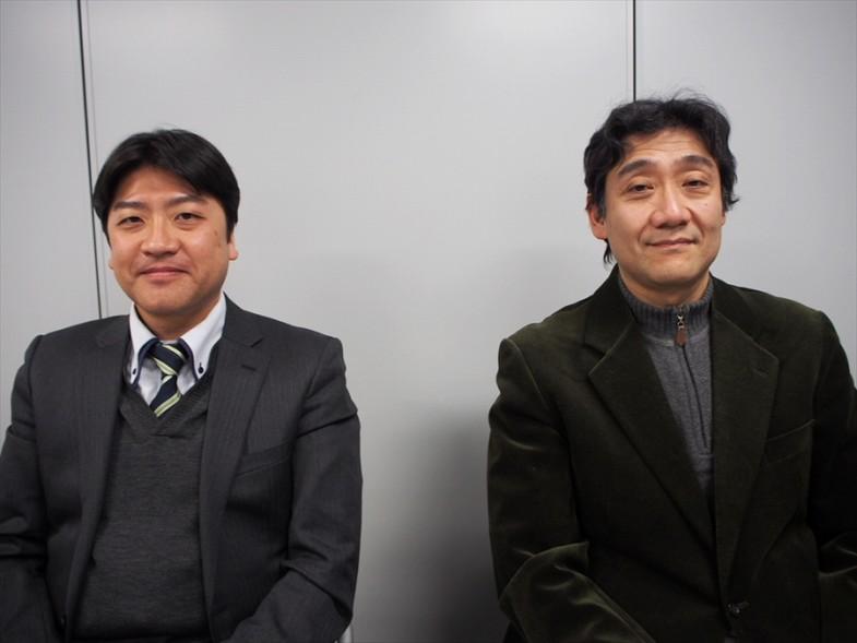 左)柏市役所 土木部交通政策課 内藤義之さん、(右)東京大学大学院 新領域創成科学研究科 久保登さん