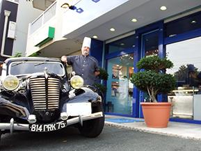 「日本だからクラシックカーに乗れる」フランス人パティシエのシトロエン愛