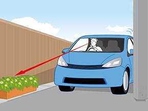 狭い道を安全に走るコツ(クルマの運転 苦手克服)
