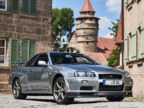 【世界の愛車紹介ドイツ編】バイエルンに輝くR34GT-Rの最終進化型(Nissan Skyline GT-R R34 V SpecⅡ Nur)