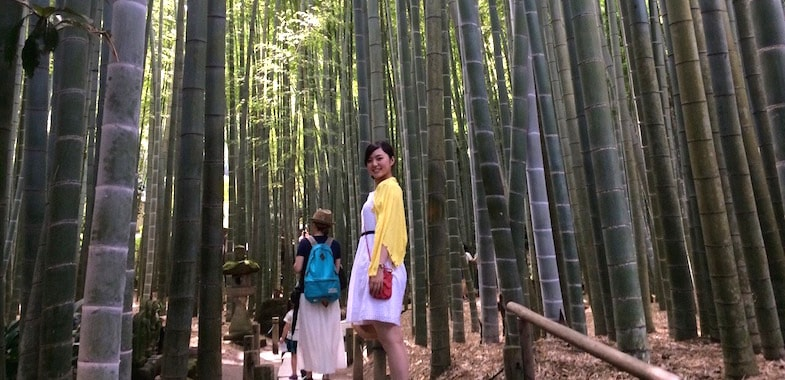 休日の神奈川県・鎌倉ドライブから。「鎌倉もお気に入りのスポットです。千葉からだと距離もちょうどよくて行きやすいです」