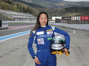 夢はF1ドライバー! レーシングドライバー小山美姫さん
