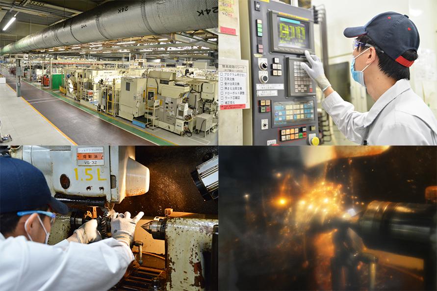本社工場の試作ラインにはさまざまな汎用の設備が取り揃えられ、どのようなものでも造ることが可能だ。だがそれを使いこなすことができるのは、試作ラインの経験豊富な職人ならでは