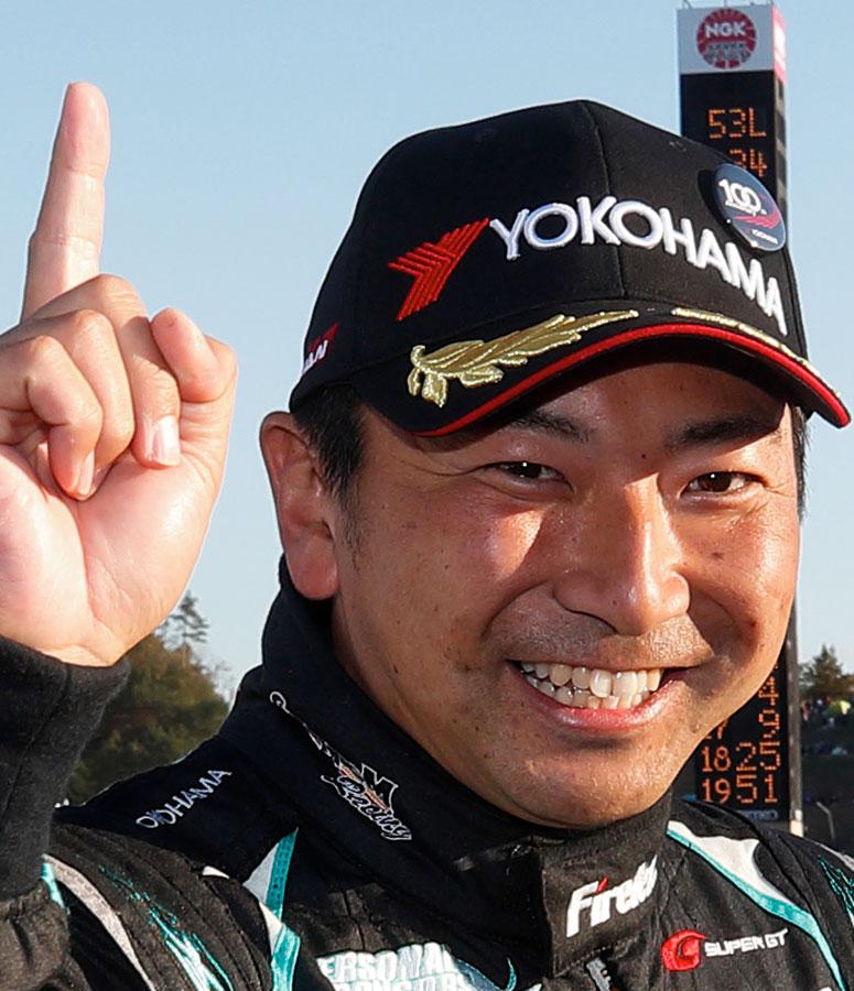 レーシングドライバー片岡 龍也