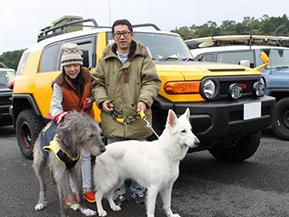 【FJ SUMMIT 愛車紹介 vol.6】愛犬とのお出掛けを楽しみつつカスタマイズも積極的に