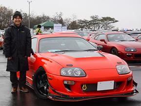 【愛車紹介】エンジンに魅せられたオーナーの2台目のスープラ