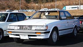ミニカーのモデルにもなったフルオリジナルのトヨタ・マークⅡ(GX71)