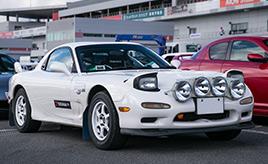 【RX-7 40th Anniversary 愛車紹介】参戦歴30年のラリーストが選んだ日本で唯一の!? FD3Sラリー仕様