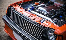 【OPTION SUPER FES 愛車紹介】31年間ともに過ごしてきたジェミニZZ/TはSR20エンジン換装の現役サーキット仕様!