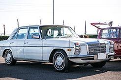 【鈴鹿サウンド・オブ・エンジン2018 愛車紹介】所有歴20年。毎日の買い物でも活躍する73年式メルセデス・ベンツ230-6(W114)が『壊れない』理由