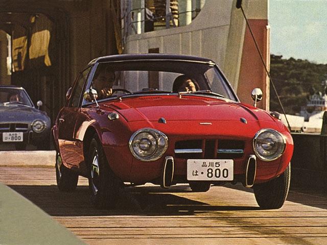 カタログ「トヨタ・スポーツ800」