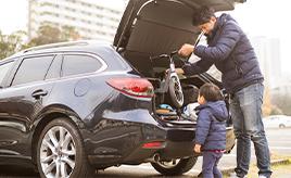 モータースポーツと運転、そして家族を愛するラガーマンが選んだ「ステーションワゴン」という最高の妥協点