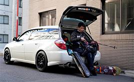 スバル レガシィツーリングワゴンとともに歩む、人生を賭けたスノーボードライフ