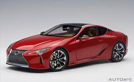 美しい塗装や細密なスピンドルグリルを追求 極上のラグジュアリークーペ ミニカー「1/18スケール レクサス LC500」