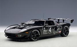もしもル・マン仕様に仕立てたら…。グランツーリスモ内の架空のレースカー ミニカー「1/18スケール フォード GT LM スペックII テストカー」