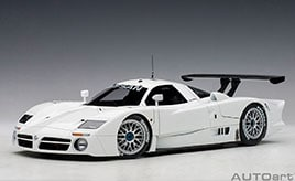 ル・マン24時間レース制覇の為に開発された~ミニカー「1/18スケール 日産 R390 GT1 1998」