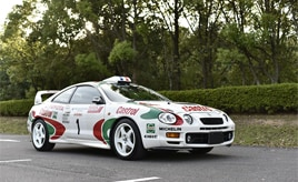 通勤仕様のWRCレプリカST205が第2部グランプリを受賞
