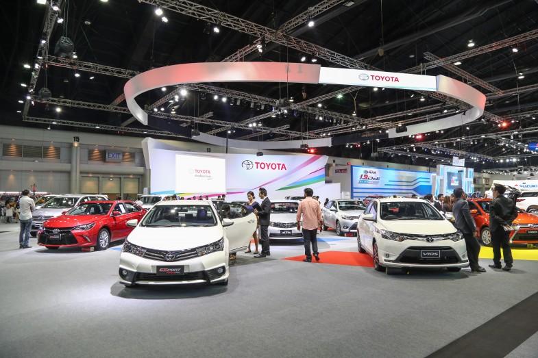 タイでは自動車販売の上位を日本のメーカーが占めます