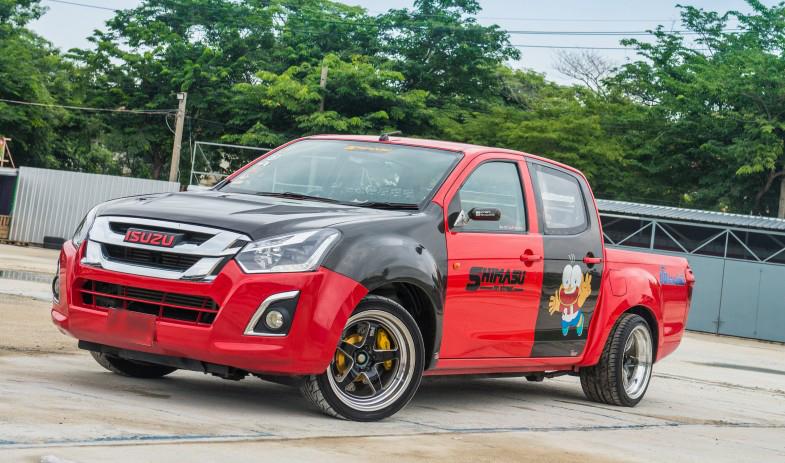 レーシングスタイル派の一番人気はいすゞのD-MAX
