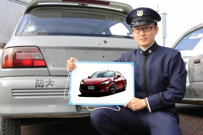 航空要員航空宇宙工学科 2学年 笹村 昂希さん
