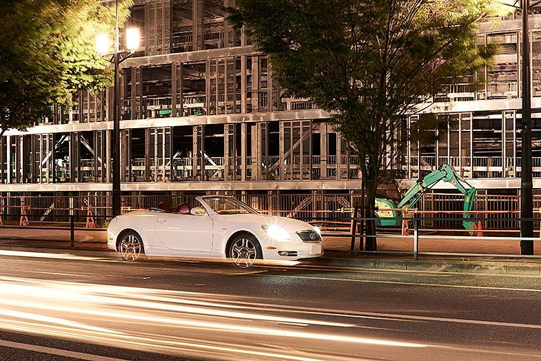 真夏の夜のトーキョードライブ。レクサス SC430