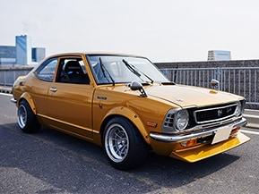 1/1スケールはオトコのロマンだ!俺の大事なオモチャは1973年式トヨタ・カローラ レビン(TE27型)