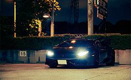スーパーカーと東京、移り変わる街を駆け抜けるランボルギーニ・ウラカン LP610-4