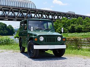 日本車ならではの美学を未来のクルマ好きに見せたい。1973年式スズキ・ジムニー(LJ20V型)