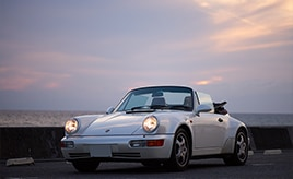 73歳のオーナーの愛車は24年の付き合い。1993年式ポルシェ・911カレラ2カブリオレ ターボルック(964型)