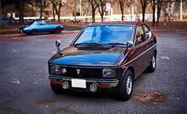 愛車は兄から引き継いだ実質ワンオーナー車、スズキ・フロンテクーペ GXCF(LC10W型)