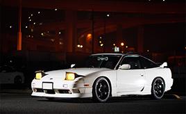 人生初の愛車とは6年のつきあい。24歳のメカニックがこよなく愛する日産180SX タイプX(RPS13型)