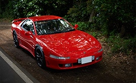 約27年・48万キロをともにしたワンオーナーの愛車。1991年式三菱・GTO ツインターボ(Z16A型)