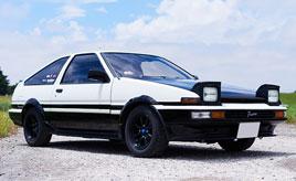 20代女性の愛車は、父親が乗っていたクルマと同じ1985年式トヨタ・スプリンタートレノ GTV(AE86型)