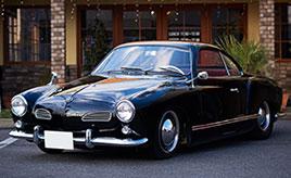 イタリアンレストランのオーナーがこよなく愛する伊独合作車。1966年式フォルクスワーゲン・カルマンギア
