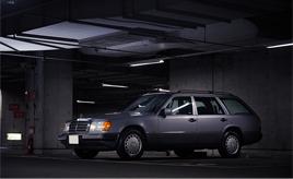 """2ケタ""""33ナンバー""""ごと後世に残していきたい…。1991年式メルセデス・ベンツ230TE(S124型)"""